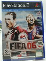 Fifa 2006 (PS2) VGC OLD SCHOOL GENERATION Complete with instruction Manual Clean