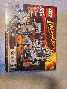 Lego Indiana Jones The Temple of Doom Set 7199 **missing a few pieces**