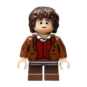 LEGO Lord of the Rings Hobbit Frodo Baggins Minifigure - No Cape