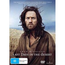 LAST DAYS IN THE DESERT-DVD-Ewan McGregor-Region 4-New AND Sealed