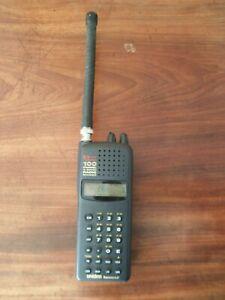 uniden bearcat twin turbo 100 channel 9 band radio scanner handheld great (con)
