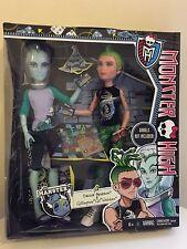 NEW Monster High Manster DEUCE Gorgon & Gillington GIL Webber Boy Dolls 2 Pack
