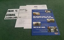 2000 LDV CUB PILOT CONVOY UK MAIL OUT 4 PART BROCHURE FREE CINEMA TICKETS OFFER