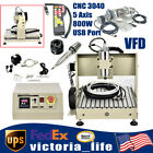 5 Axis Router Engraver CNC 3040 VFD Wood Carving Machine Cutter 800W+ Controller