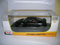 Maisto Audi R8 GT mattschwarz black Premiere Edition, 1:18 Art. 36190