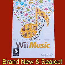 Wii music-nintendo wii ~ pal ~ brand new & sealed!