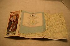Vintage AAA Map Of France, 66-4