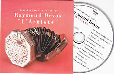 CD CARTONNE COLLECTOR RAYMOND DEVOS L'ARTISTE 12 TITRES DE 1992 TBE