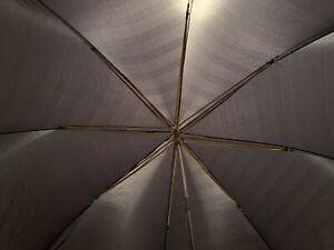 Knirps Herren Taschenschirm Regenschirm grau Klassiker