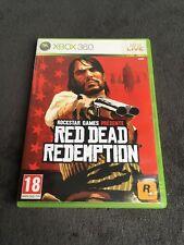 Jeu xBox 360 Red Dead Redemption PAL Fr CD état neuf et Fonctionnel