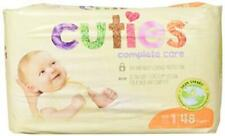 Cuties Complete Care Baby Diapers, Size 1, 48 Count, New