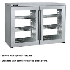 """Perlick Ptr48 48"""" Pass-Thru 2-section Refrigerated Back Bar Cabinet"""