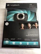 Logitech C615 Portable HD Webcam 1080p 30fps Black