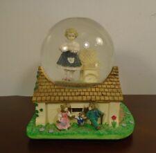 Rare Vintage Heroines of the Fairy Tale Forest Goldilocks Musical Snow Globe