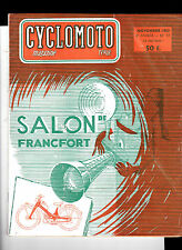 Cyclomoto Magazine- N°17- Salon de Francfort- Cyclomoteurs