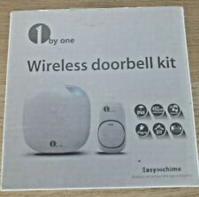 Wireless Doorbell kit 1 by one 492 feet with 36 selectable toons Easy chime