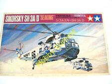 Vintage 1/100 Tamiya US Navy SEAKING Sikorsly SH-3A/D  Helicopter Kit  #PA1019
