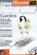 Amateur Photographer magazine with Zeiss  85mm F1.4  Lumix G 25mm f1.7   23.1.16