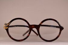 NOS GIANFRANCO FERRE GFF 37 TORTOISE GOLD Vintage Sunglasses frame Italy '90s