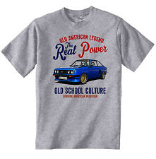 VINTAGE AMERICAN CAR FORD ESCORT RS 2000 - NEW COTTON T-SHIRT