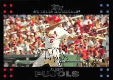 2007 Topps #130 Albert Pujols > St. Louis Cardinals 🔥⚾️🔥