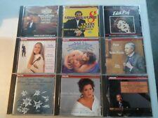 9 Philips Classical CD Lot Prokofiev TCHAIKOVSKY Ravel MOZART Beethoven L286