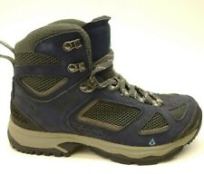 Vasque Womens Breeze Navy Athletic Hiking Trail Outdoor Mid Boots US 8 EU 38.5