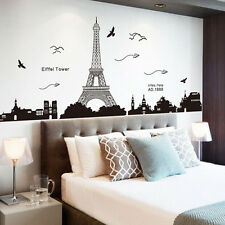 US STOCK DIY Art Vinyl Wall Sticker Decal Mural Quote Word Poem Home Room Decor