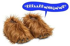Star Wars Chewbacca Chewy Slippers Plush Comfortable With Sound