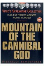 MOUNTAIN OF THE CANNIBAL GOD DVD RARE VIPCO SCREAMTIME COLLECTION CULT HORROR