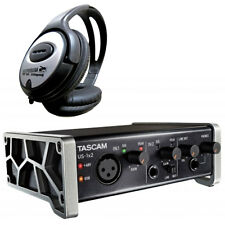 Tascam us-1x2 USB audio-Interface + auriculares