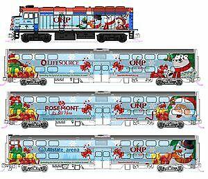 Kato 106-2016 Operation North Pole Christmas N Gauge Diesel Passenger Train Set