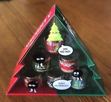 NEW Bath and Body Works Naughty Nice Candle Gift Set Christmas Tree Holiday