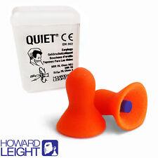 2 paires de bouchons d'oreilles réutilisables Howard Leight by Honeywell Silencieux UNCORDED boules quies