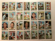 1970 Topps WASHINGTON SENATORS Team Lot 28 FRANK HOWARD Team Card ALL High #'s