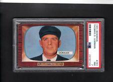 1955 Bowman # 293 Thomas Gorman PSA 7 NM