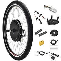 "436V 500W 26"" Front Wheel Electric Bicycle E-bike Kit Conversion Cycling Motor"