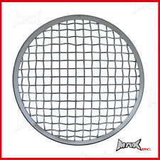 7 INCH Chrome Mesh Headlight Stone Guard Metal Insert Protector