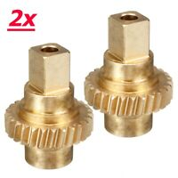 2x Twin Top Roof Motor Winglet Cogs Repair Gear Brass For Vauxhall Opel Astra