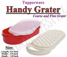 Tupperware Handy Grater Red color, 500 ml storage, easy to hold- NEW!