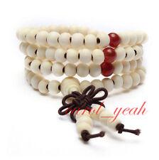 6mm Tibetan Buddhist 108 wood Prayer Bead Mala Necklace/Bracelet