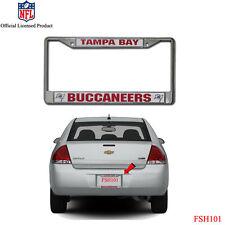 NFL Tampa Bay Buccaneers Car Truck Chrome Metal Laser Cut License Plate Frame