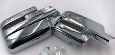 For 09-14 Ford F150 Truck Chrome Full ABS Mirror Covers Caps Pair Set