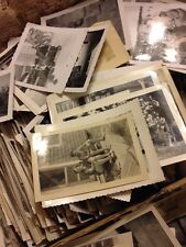 400 Old Photos Lot BW Vintage Photographs Snapshots Black White #2