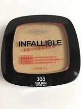 Loreal Infallible Pro-Matte 16hr Powder 300 NUDE BEIGE  New