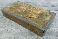 Rare Collectable c1920's Vintage Tobacco Tin - Richmond Mild Gem Cigarettes Tin