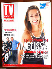 TV Magazine 19/7/2009; Interview Melissa Theuriau/ Mareva Galanter/ Karim Achoui