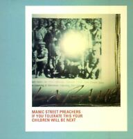 MANIC STREET PREACHERS if you tolerate this your children will be next CD promo