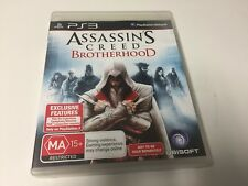 PS3 GAME ASSASSINS CREED BROTHERHOOD