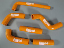 Forged Racing KTM 400 EXC 525 EXC Radiator Hose Tube Silicone 2002-2006 Orange